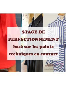 Stage de perfectionnement en couture