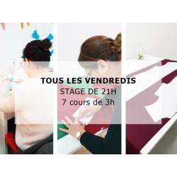 Cours de couture à Paris tous les vendredis avec Coudre Simplement