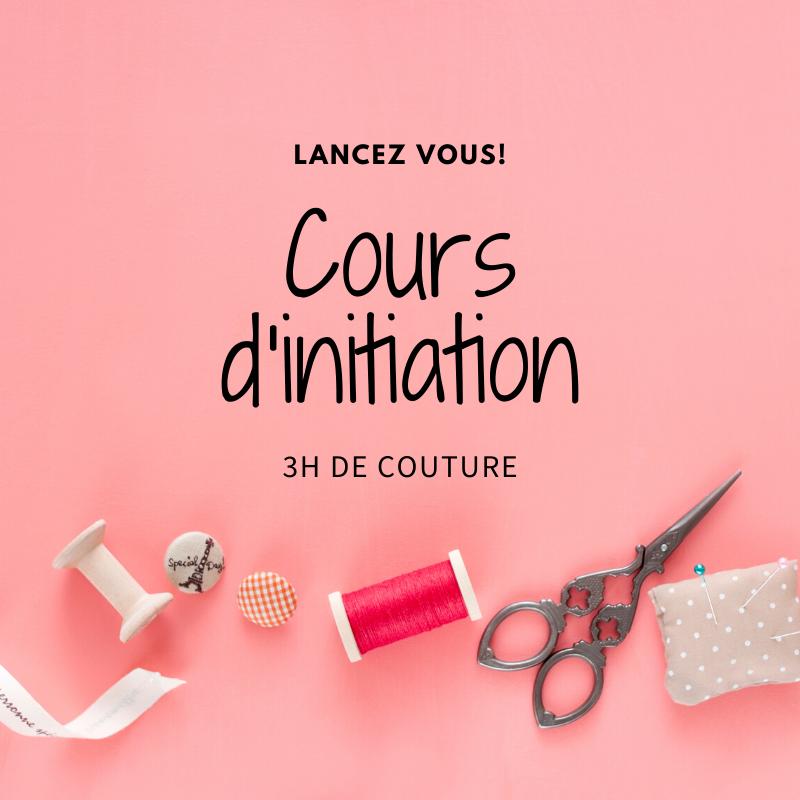 Cours d'initiation à la couture