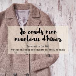 Coudre un manteau/ blouson...