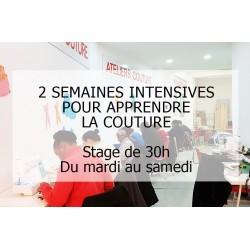 Formation intensive de couture - 30h avec Christelle Bahezi